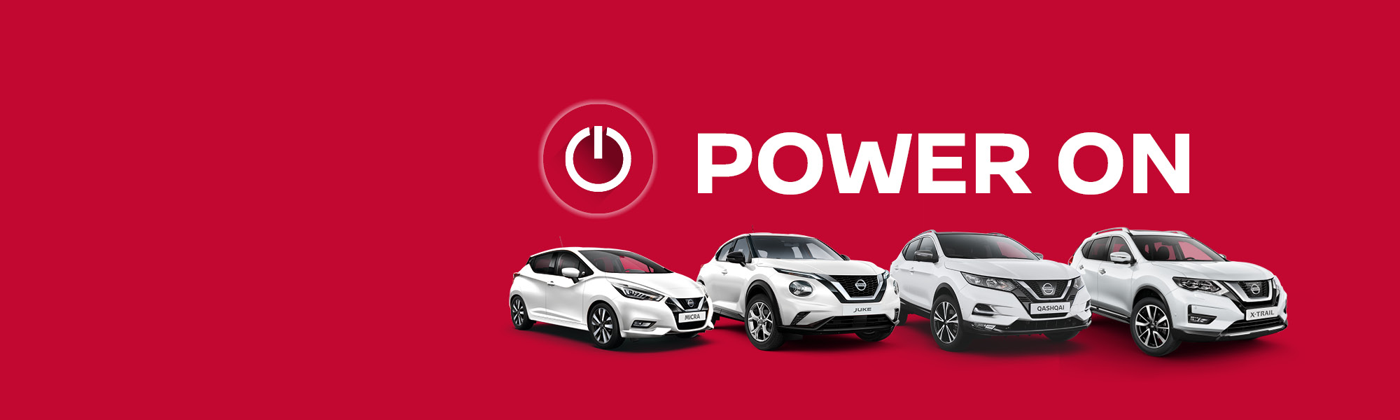 Power on mit unseren NISSAN Modellen